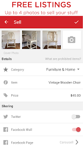 screenshot of Carousell: Snap-Sell, Chat-Buy version 2.1.2