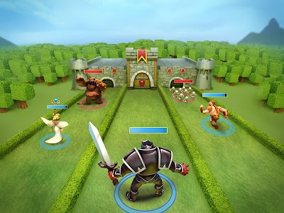screenshot of Castle Crush: Free Strategy Card Games version 4.0.5