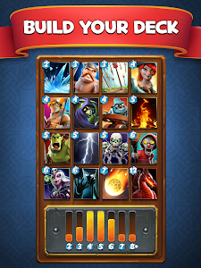 screenshot of Castle Crush: Free Strategy Card Games version 1.0.5