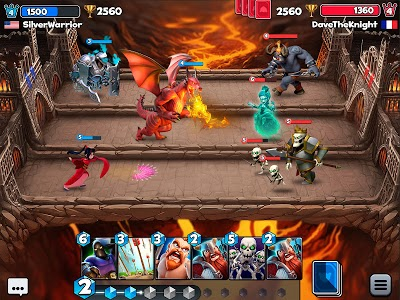 screenshot of Castle Crush: Free Strategy Card Games version 4.2.1