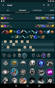 screenshot of Catalyst - Builds for LoL, TFT Helper version 1.30.17