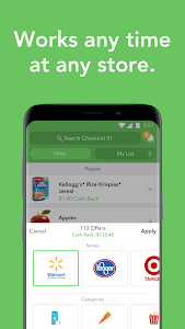 screenshot of Checkout 51: Grocery coupons version Varies with device