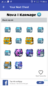 screenshot of Check Next Chest for CR version 1.0.20
