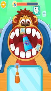 screenshot of Children's doctor : dentist. version 1.1.2