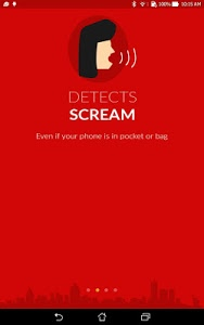 screenshot of Chilla : Women safety app with scream detection version 1.45