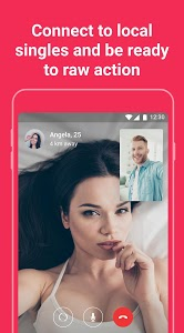 screenshot of Meet, chat & date. Free dating app - Chocolate app version 0.2.66