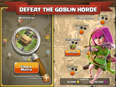 screenshot of Clash of Clans version 8.332.16