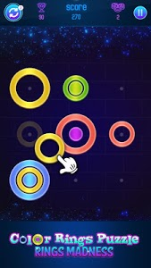 screenshot of Color Rings Puzzles - Ring Madness version 1.1.2