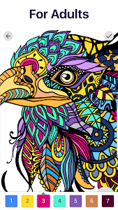 screenshot of Color by Number – New Coloring Book version 2.0.0