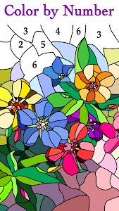 screenshot of Happy Color™ – Color by Number version 2.5.0