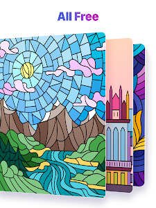 screenshot of Color by Number – New Coloring Book version 2.0.6