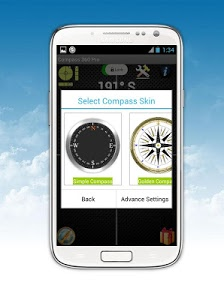 screenshot of Compass 360 Pro Free version 3.3.134