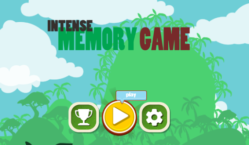 screenshot of Concentration (Matching Game) version 1.3