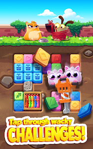 screenshot of Cookie Cats Blast version 1.1.0
