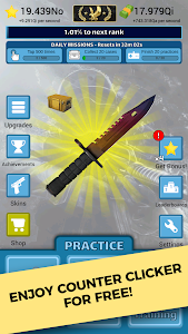 screenshot of Counter Clicker - Case Strike version 1.14.4