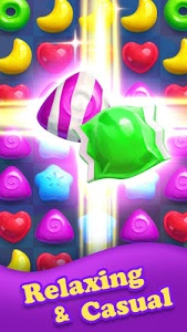 screenshot of Crazy Candy Bomb - Sweet match 3 game version 3.7.3158