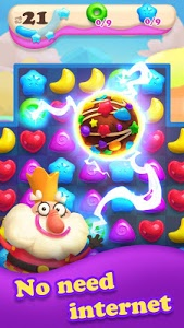 screenshot of Crazy Candy Bomb - Sweet match 3 game version 4.3.3