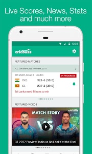 screenshot of Cricbuzz - Live Cricket Scores & News version Varies with device