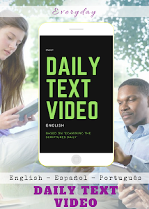screenshot of Daily Text 2020 on video version 18.3
