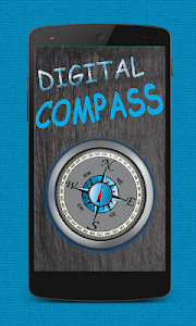 screenshot of Digital Compass for Directions version 1.4