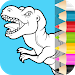Dino Coloring Pages\ud83e\udd95