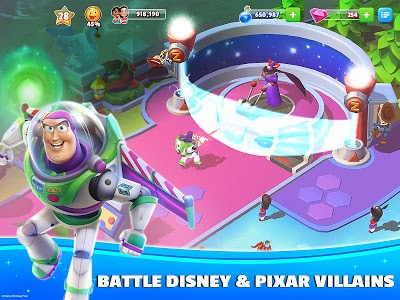 screenshot of Disney Magic Kingdoms: Build Your Own Magical Park version 3.6.1a