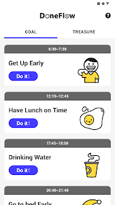 screenshot of Done Flow & My Habit & Goals & Tasks version 1.0.0.1