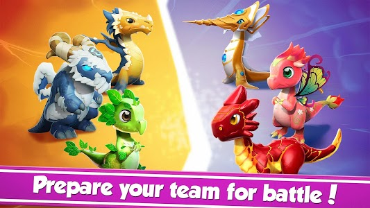 screenshot of Dragon Mania Legends version 4.5.0r