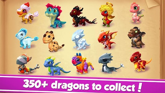 screenshot of Dragon Mania Legends - Animal Fantasy version 5.0.5c