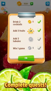 screenshot of Drink Cocktail Real Sim version 2.1.1