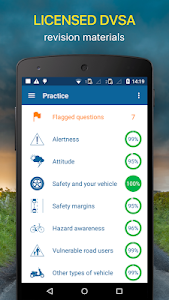 screenshot of Driving Theory Test 2019 Free for UK Car Drivers version 7.7.0