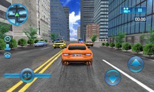 screenshot of Driving in Car version 1.9
