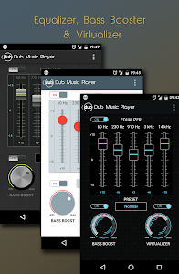 screenshot of Dub Music Player + Equalizer version 2.2