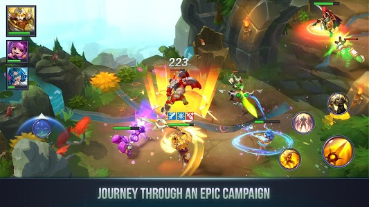 screenshot of Dungeon Hunter Champions: Epic Online Action RPG version 1.0.10