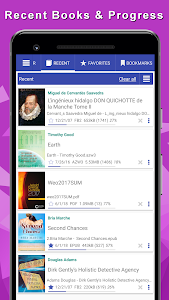 screenshot of eBooka reader of all formats version 8.0.39