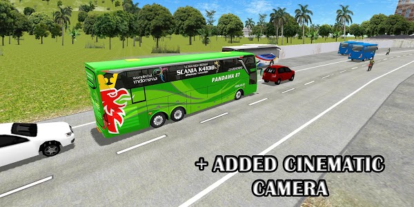 screenshot of ES Bus Simulator ID Pariwisata version 1.6.4