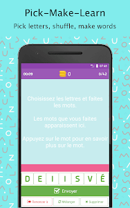 screenshot of Each Word - French (Chaque Mot) version 1.6