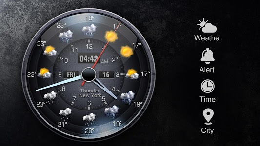 screenshot of Easy weather forecast app free version 16.6.0.6206_50092