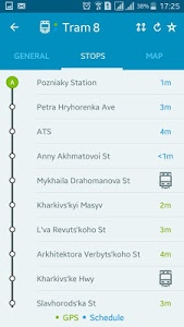 screenshot of EasyWay public transport version 3.2.12