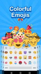screenshot of Emoji Keyboard - Cute Emoji,GIF, Sticker, Emoticon version 2.3.2