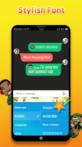 screenshot of African Emoji Keyboard 2018 - Cute Emoticon version 1.3.2