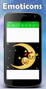 screenshot of WAStickerApps Emoticons for whatsapp version 4.9