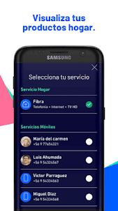 screenshot of Entel version 2.109.1