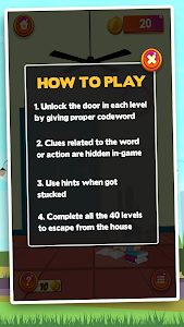 screenshot of Escape Room Puzzle : Word Mystery Game version 1.1