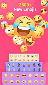 screenshot of Facemoji Emoji Keyboard:GIF, Emoji, Keyboard Theme version 2.2.9.3