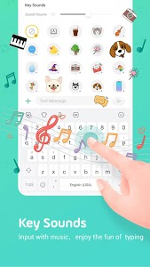 screenshot of Facemoji Emoji Keyboard:DIY, Emoji, Keyboard Theme version 2.6.2