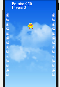 screenshot of Falling Bird version 1.0