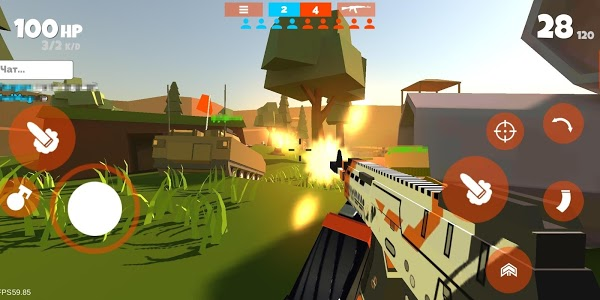 screenshot of Fan of Guns version 0.9.46