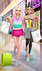 screenshot of Fashion Doll: Shopping Day SPA \u2764 Dress-Up Games version 2.4