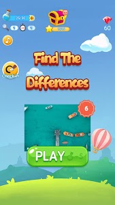 screenshot of Find The Differences version 1.3